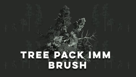 Tree Pack IMM Brush