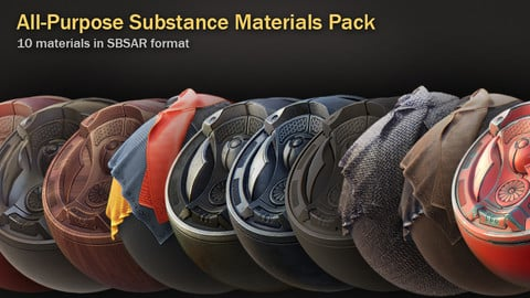 All-Purpose Substance Materials Pack