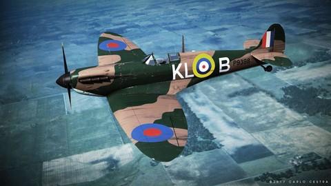 SUPERMARINE SPITFIRE MK IA 54th Squadron