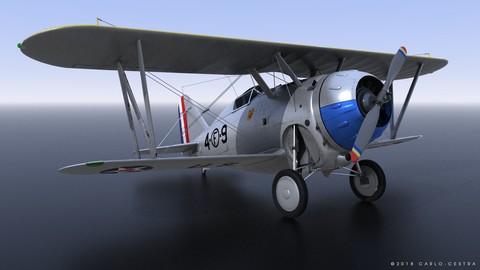 GRUMMAN F2F-1 US Marines 1937