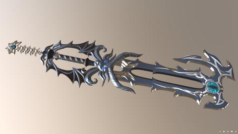 3D Printable Files - No Name Key Blade