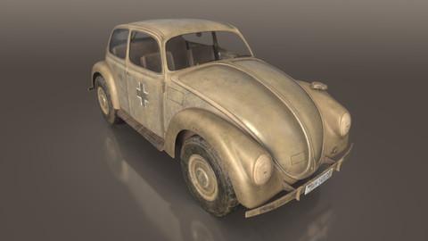 VW Typ.87 Afrika Korps staff car WW2 Western desert