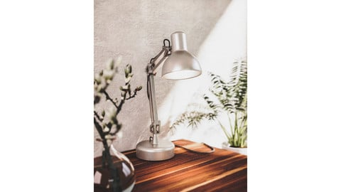 Swing Arm Desk Lamp 3d Model