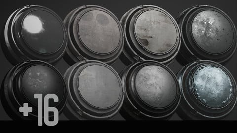 +16 Substance Painter Various Materials