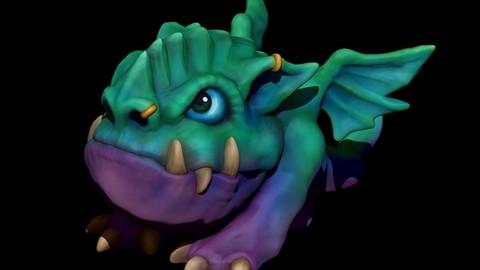 Stylized Mini Dragon