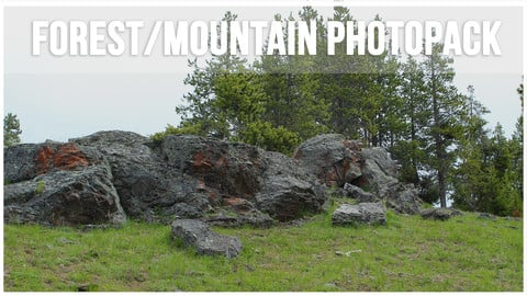 Forest/Mountain Photopack