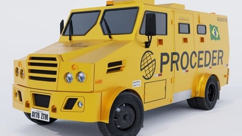 Bank Armored Car