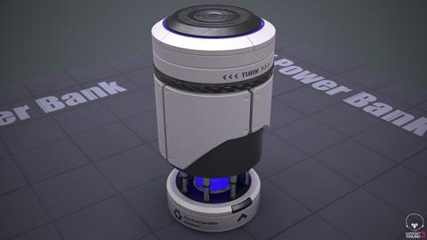 Sci-Fi Power Bank PBR