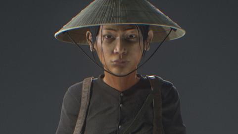 VietnamWar female soldier