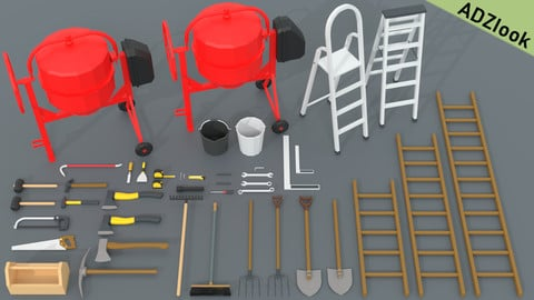 LowPoly - Tools Pack