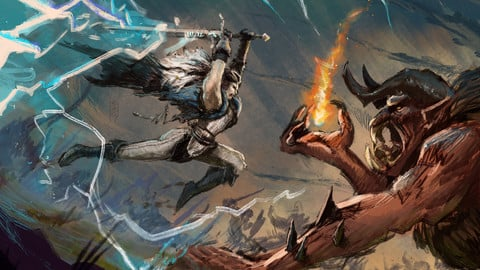 Yasha - Thunderstruck - Critical Role (digital print)