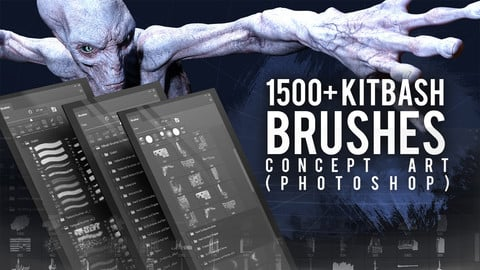 Kitbash brushes for Concept art  (by Mels Mneyan)