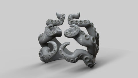 Octopus Ring tentacle