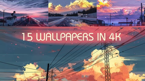 Wallpaper Pack 01 - 15 Artworks in 4K