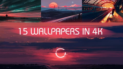 Wallpaper Pack 02 - 15 Artworks in 4K