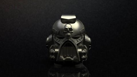 Space Marine Helmets Set