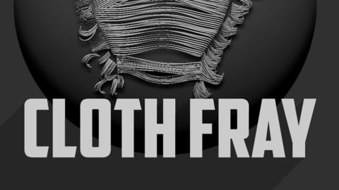 Frayed Cloth Brush