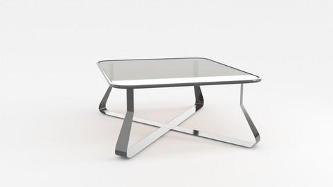 3D Model table Crossia_Glass_001
