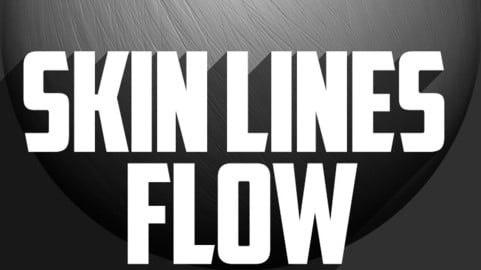 Skin Lines Flow Brush