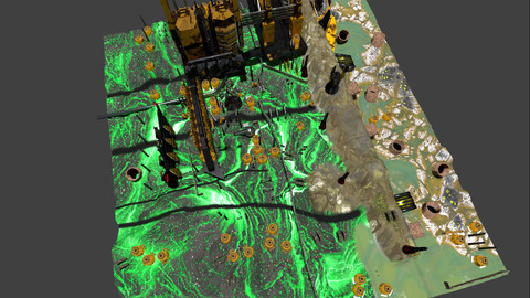 Wasteland 3D Map