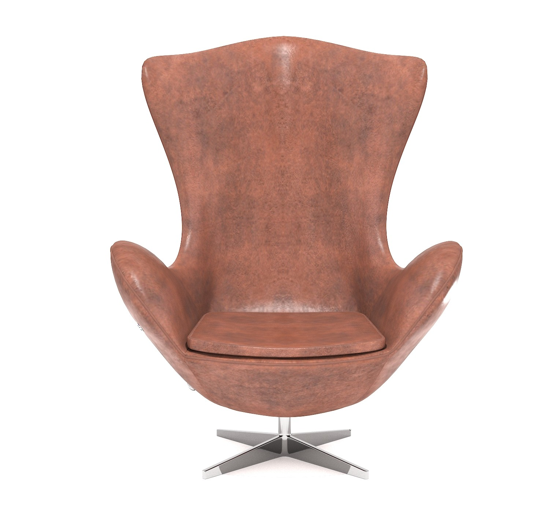 Egg Chair Arne Jacobsen Kopie.Artstation Egg Chair 3d Assets