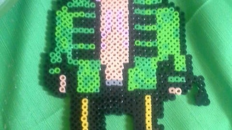 Perler Beads Character 1 Side