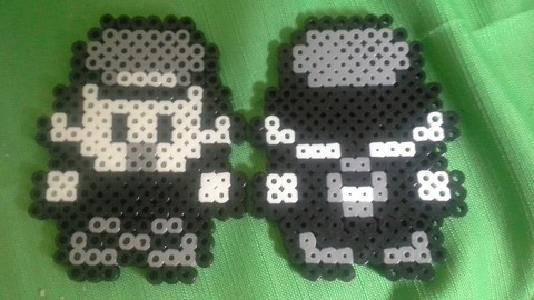 Double Sided Perler Beads