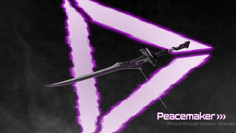 Cyberpunk Katana - Peacemaker