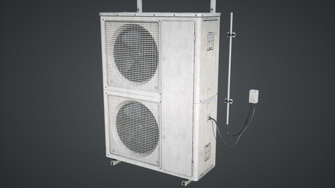 External air conditioner Double