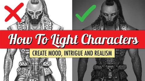 How To Light Characters!