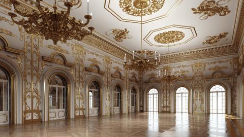 Classic Interior Scene 333 3D
