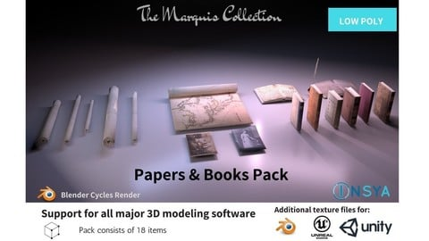 Papers & Books Pack - The Marquis Collection