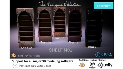 Shelf M01 - The Marquis Collection