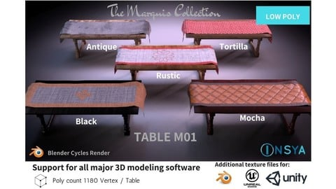 Table M01 - The Marquis Collection