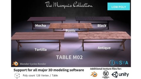 Table M02 - The Marquis Collection