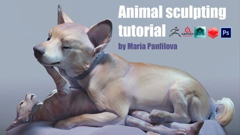 Tutorial - Artistic animal CG sculpture