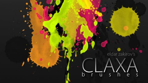 Free: CLAXA 2009 spatter brushes + 12 2014 SPATTER HQ brushes