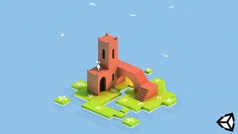 Creating Mobile Lowpoly Scene with Maya and Unity