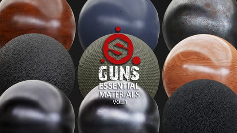 Guns Essential Materials Vol.01