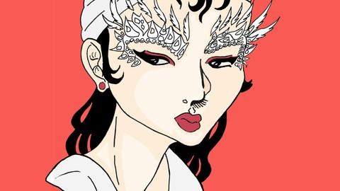 Feather Eyebrows---A Sad Carravan