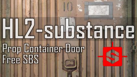 HL2-Substance / Prop Container Door SBS Free