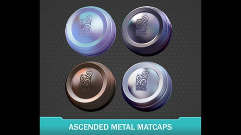 Catherine's Ascended Metals Zbrush Matcaps