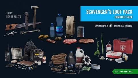 Scavenger's Loot Pack - Complete Pack