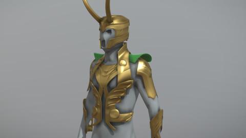 3D Printable - Loki Armor