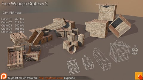 Yughues Free Wooden Crates