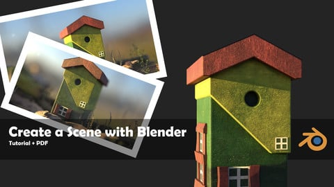 Create a Scene with Blender