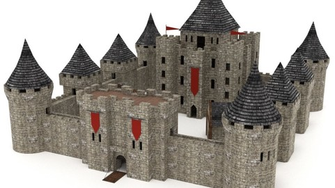 Castle Pack - Low Poly