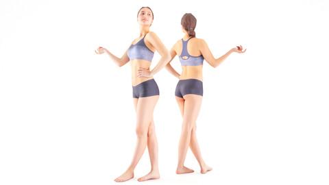 Slim sporty woman 11