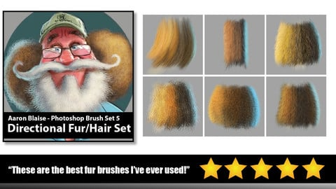 Aaron Blaise | Custom PS Fur/Hair Brushes Vol. 1