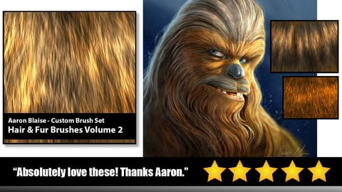 Aaron Blaise | Custom PS Fur Brushes Vol. 2
